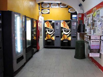 Pisa Pasta  automatic restaurant, Pisa