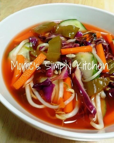 resep asinan bogor sayuran