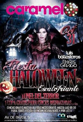 Fiesta de Halloween en la Discoteca Caramelo Madrid