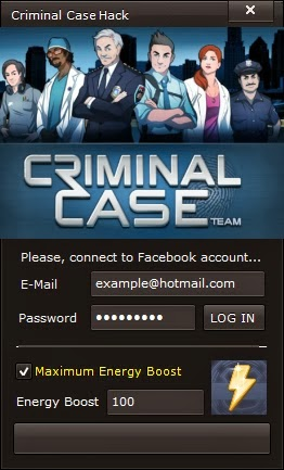 Criminal Case Cheats / Hack Tool