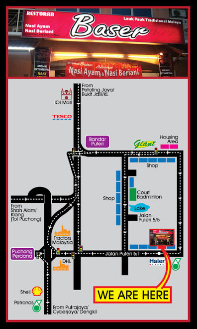 Peta ke Cawangan Puchong, Selangor