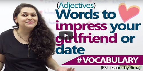 Learn Some Words to impress your girlfriend or date