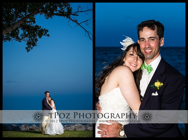 Gibson Island Club Wedding Bride Groom Pictures
