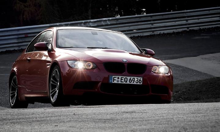 BMW E92 M3 at Nurburgring