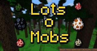 LotsOMobs Mod para Minecraft 1.8