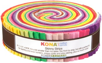 Robert Kaufman Skinny Strips pre-cut in Rita Hodge Designer Palette.
