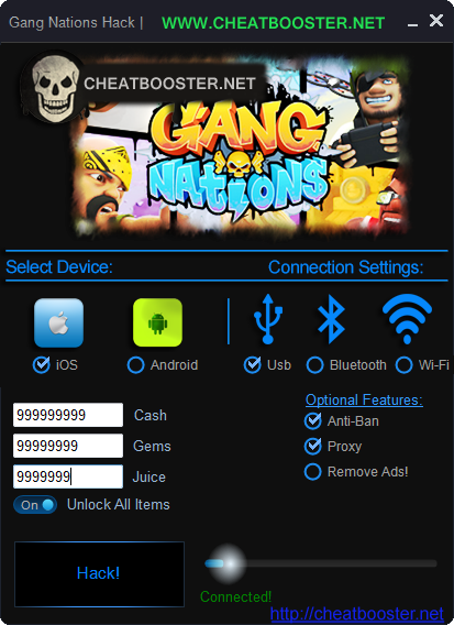 Gang Nations Hack