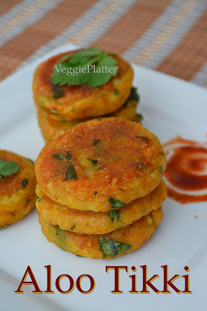 Aloo Tikki Chole Chaat