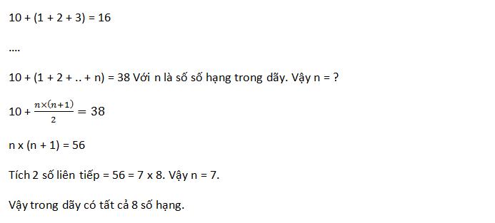 Dạng bài toán tìm giá trị của x - Toán 5
