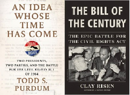 book covers for An Idea Whose Time Has Come and The Bill of the Century
