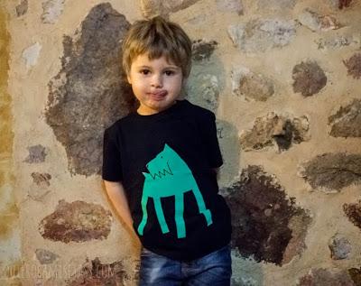 """camiseta de niño modelo """"Perro""""-Tienda Online de camisetas-QuieroCamisetass.com"""