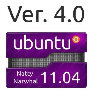 Ubuntu 11.04 Sticker