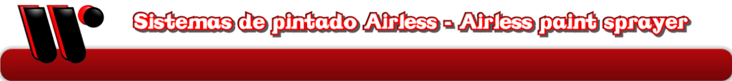Equipos de pintura Airless - Airless paint sprayer
