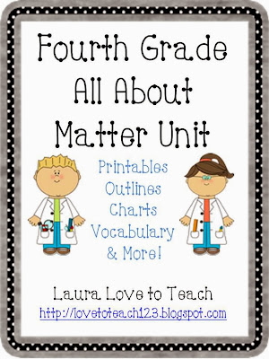 http://www.teacherspayteachers.com/Product/Fourth-Grade-Matter-Unit-684749