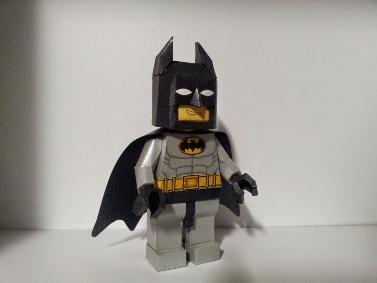 Lego Batman Paper Craft Model