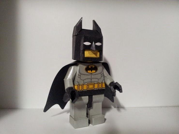 Lego Batman Paper Craft Model