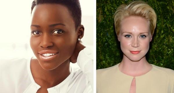 Lupita Nyong'o y Gwendoline Christie