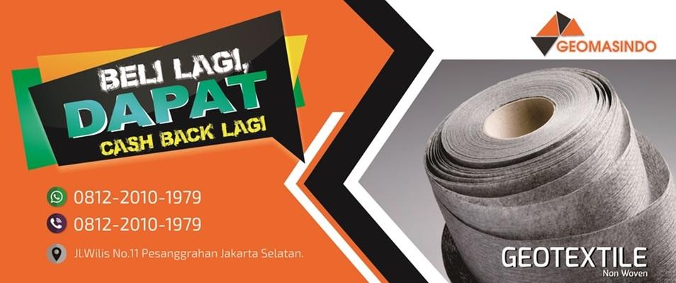 Jual Geotextile, Geomembrane, Geogrid Murah Se Indonesia