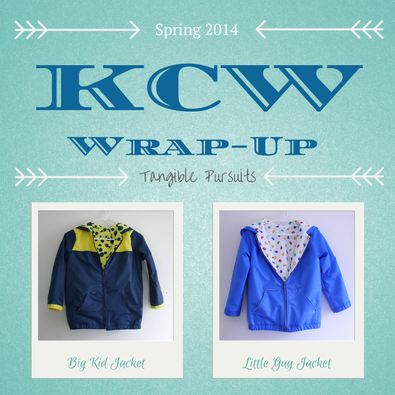 Tangible Pursuits: KCW Spring 2014 Wrap-Up
