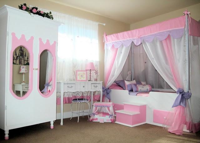 Little Girl Pink Bedroom Ideas