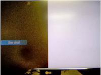 defecto de conector flat en display lcd
