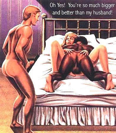 comics cartoon Cuckold brides