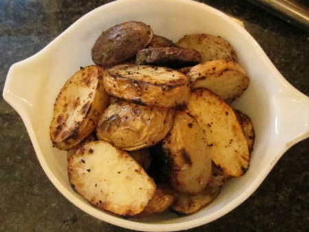 ... Mom's Recipes: Summed ends with grilled potatoes and broccolini