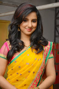 Leema glamorous photos in half saree-thumbnail-8