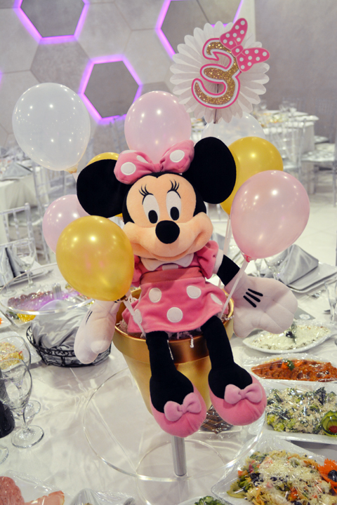 Pink And Gold Minnie