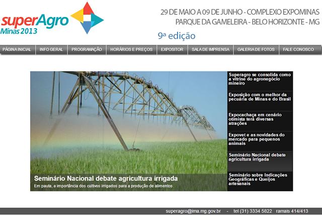 II Seminário Nacional de Agricultura Irrigada e Desenvolvimento Sustentável.