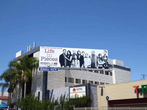 Life in Pieces season 1 billboard