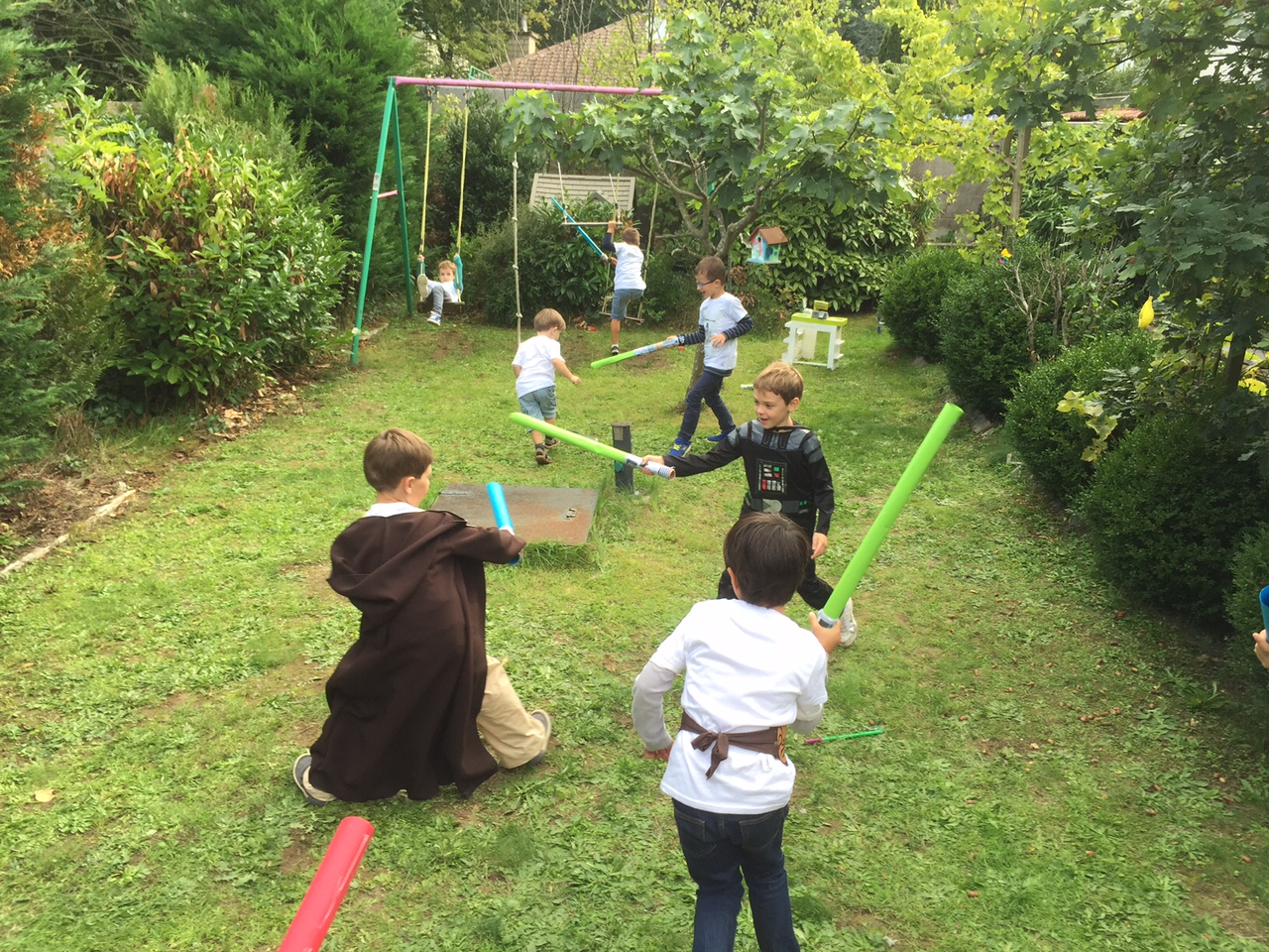 star wars party les animations