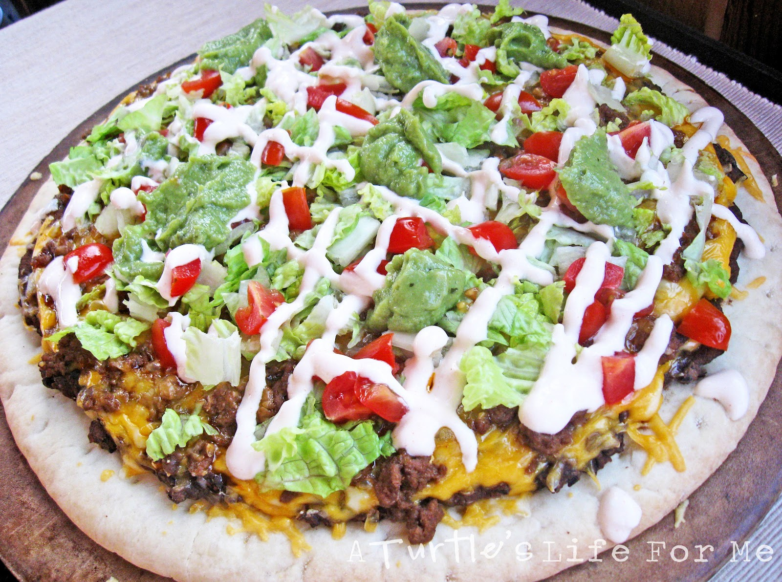 Taco Pizza - A Turtle's Life for Me