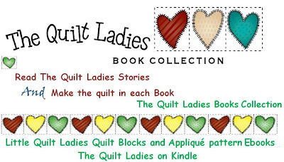 logo of the quilt ladies