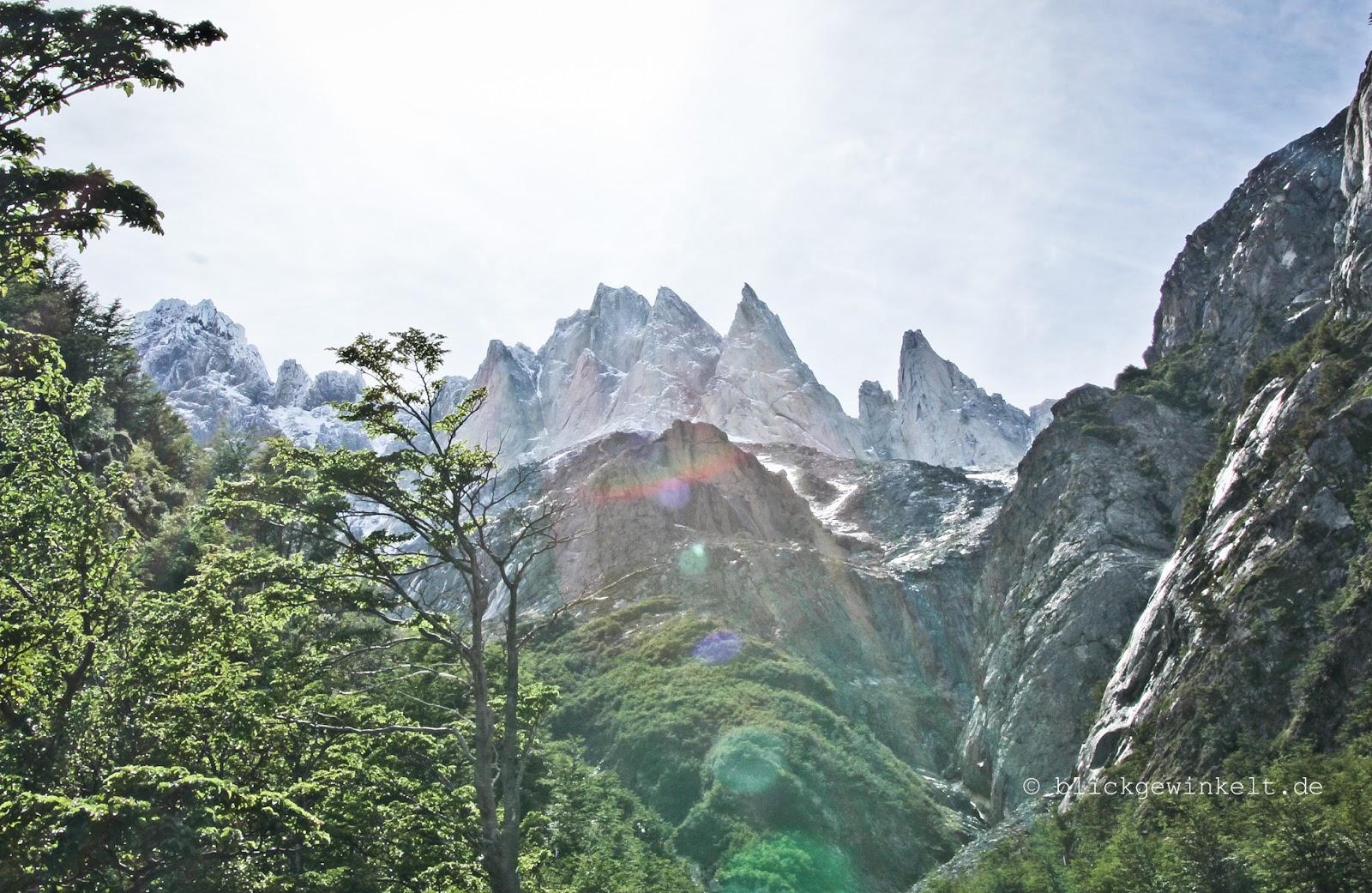 Torres del Paine, Valle de Francais, Backsite