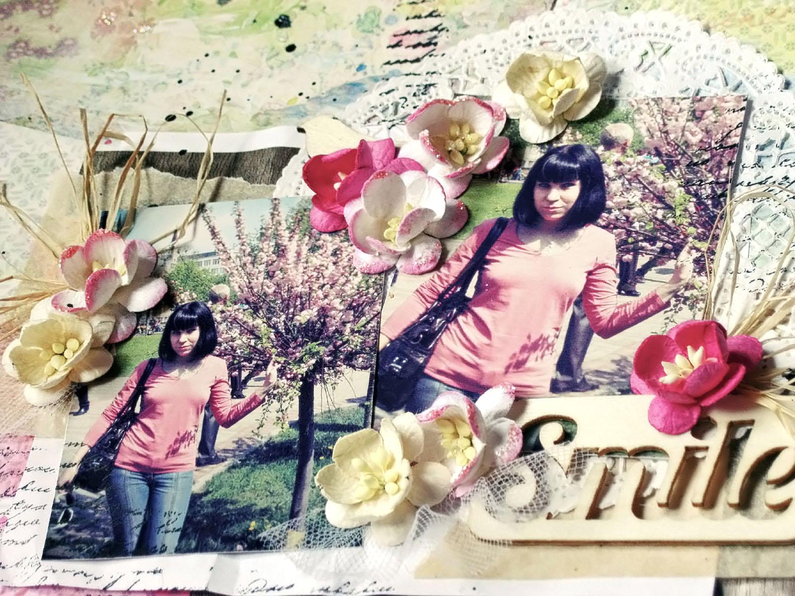 Поза цветка вишни фото