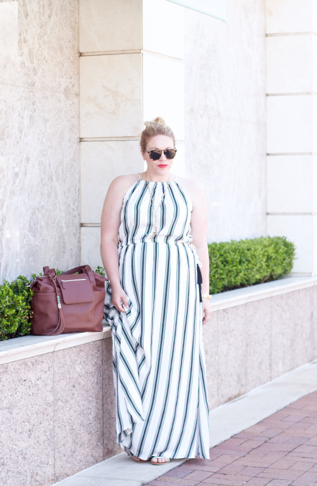 Summer maxi dress for day to night