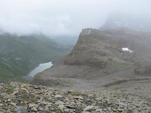 Photo : Alain Rongier (9 août 2011) - Lac de la Vogealle (depuis le col de Pointe droite)
