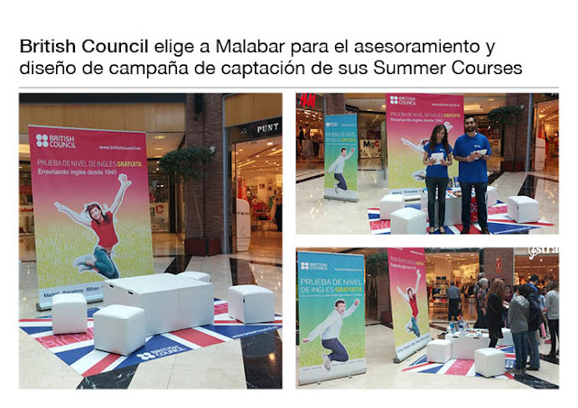 Campañas de captación de alumnos en Colegios