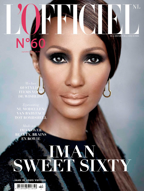 Actress, Model @ Iman - L'Officiel Netherlands, September 2015