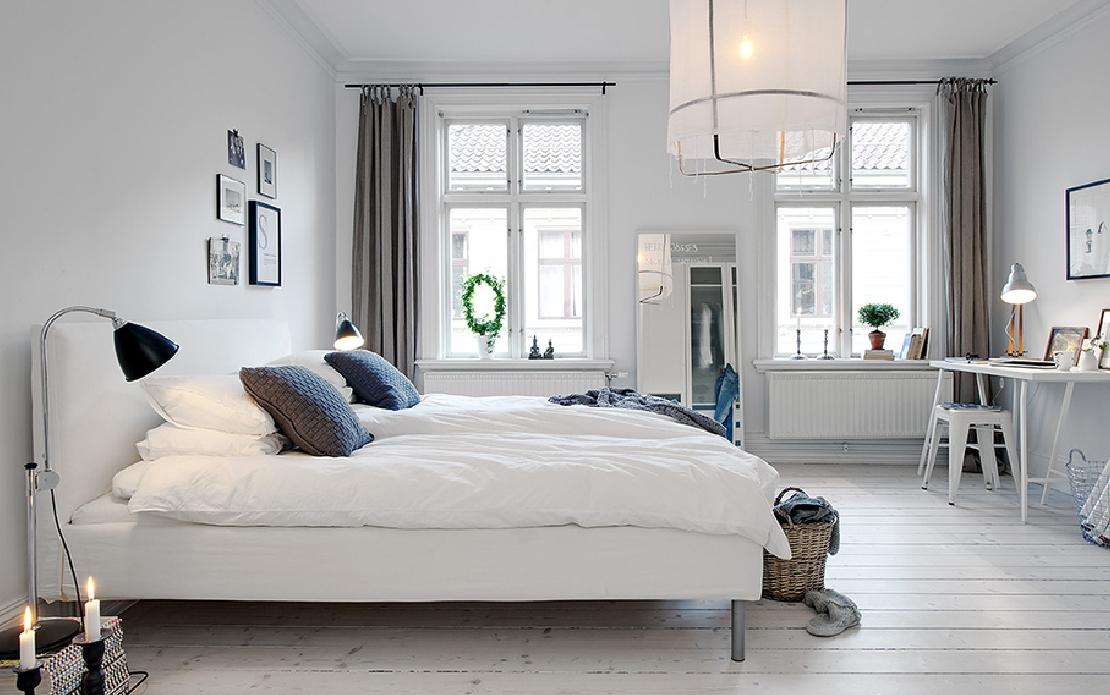 Slaapkamer Decor Ideas : sypialni wygospodarowano niewielki kąt do ...