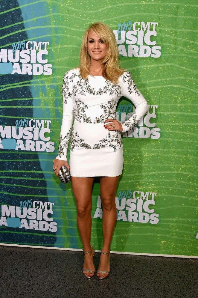 Carrie Underwood – 2015 CMT Music Awards in Nashville