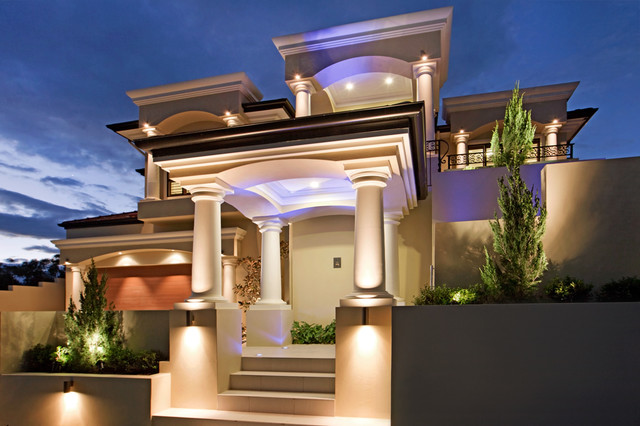 New home designs latest beautiful modern homes latest for Modern mediterranean homes