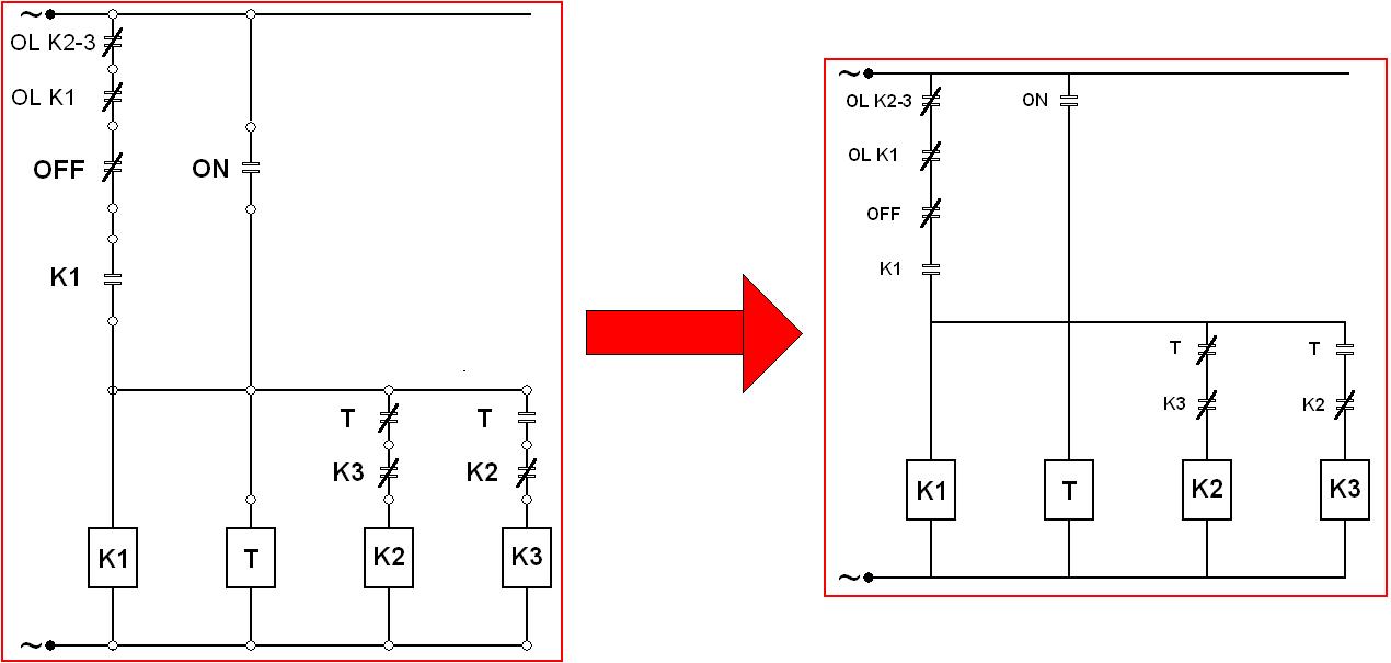 Penyederhanaan pemahaman ladder diagram untuk pemograman plc dan untuk membuatnya menjadi sebuah gambar ladder diagram kita perlu mengganti simbol tombol on off dengan simbol no nc standard seperti pada gambar ccuart Gallery