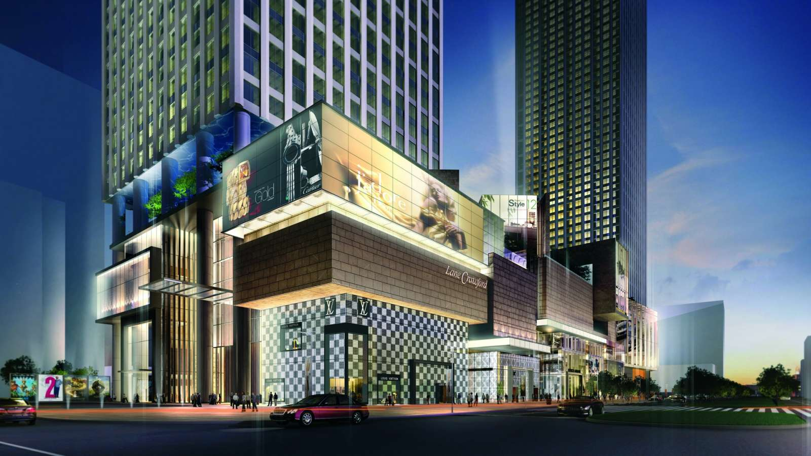 Chengdu international finance square for Sichuan cendes architectural design company limited