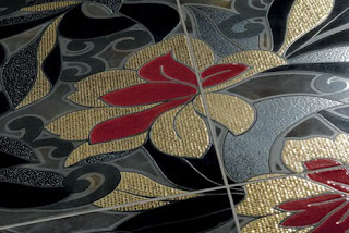 Keramik Motif Bunga