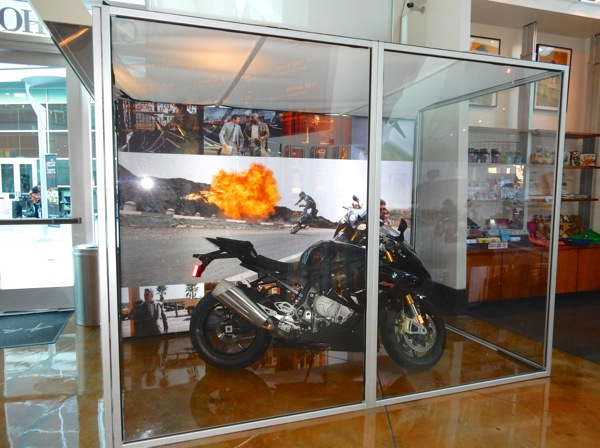 Mission Impossible Rogue Nation motorbike