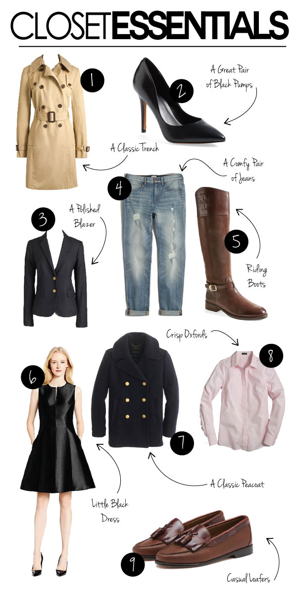 wardrobe staples 2015 2