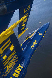 BLUE ANGELS FLYING 18 INCHES APART