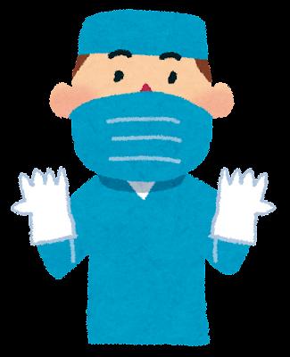 外科医のイラスト(医療)
